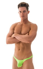 Stuffit Pouch Bikini Swimsuit in ThinSKINZ Neon Lime 4