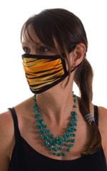 Golden Kat-Black 2-ply face mask 2
