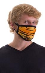 Golden Kat-Black 2-ply face mask 6