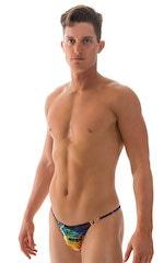 Super Low Brazilian Bikini in Tan Through RaveUp 1