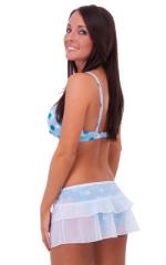 Layered Micro Mini Skirt 3