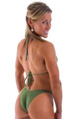 Brazilian Triangle Swim Top Swimtop in ThinSKINZ Sage 3