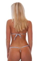 Adjustable G String Swimsuit Bottom with Rhinestone Y 4
