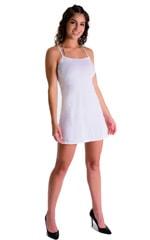Cover Up Mini Dress in Super ThinSKINZ White 3