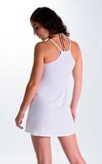 Cover Up Mini Dress in Super ThinSKINZ White 2